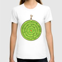 labyrinth T-shirts featuring Labyrinth by KATUDESIGN