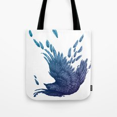 Midnight Falling Tote Bag