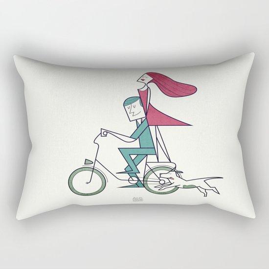 Faster than the wind Rectangular Pillow