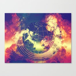 end of the days Canvas Print