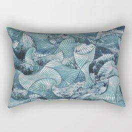 Call the Waves Rectangular Pillow
