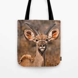 Young Kudu Tote Bag