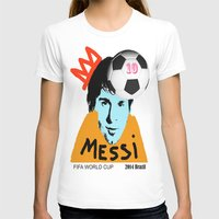 messi T-shirts featuring Messi by SNACKONART