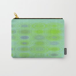 Lime blue purple circles Carry-All Pouch