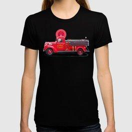 Vintage Fire Truck - Classic Americana T-shirt