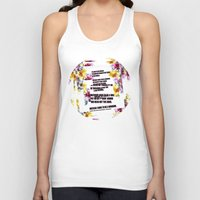 warrior Tank Tops featuring warrior by gasponce