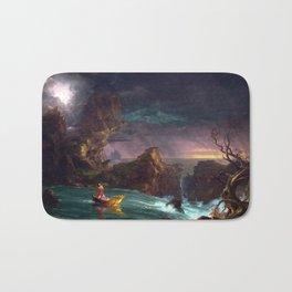Thomas Cole The Voyage of Life Manhood Bath Mat