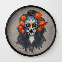 La Muerta  Wall Clock