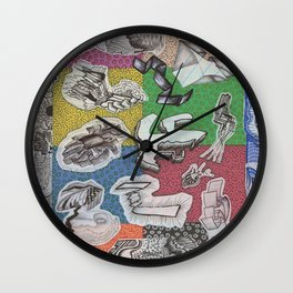 Expiration Conglomerate Wall Clock