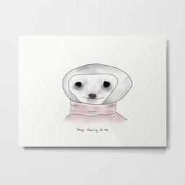 self-conscious sloth Metal Print