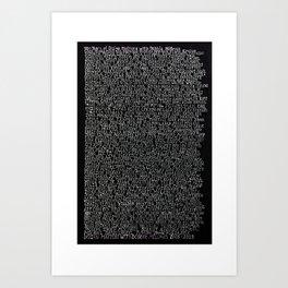 Design Matters 10th Anniversary Artwork Art Print