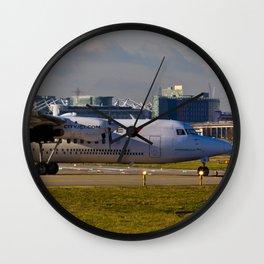 Fokker 50 Wall Clock