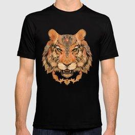 Indian Tiger Tattoo T-shirt
