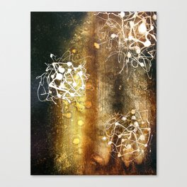burnt umber Canvas Print