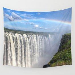 Victoria Falls , Africa, Zambia, Zimbabwe Wall Tapestry