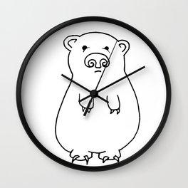 BEAR! Wall Clock