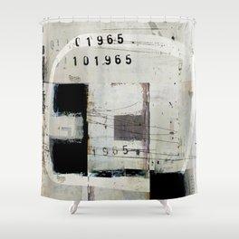« graphique 1965 » Shower Curtain