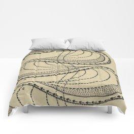River Formation Diagram Comforters