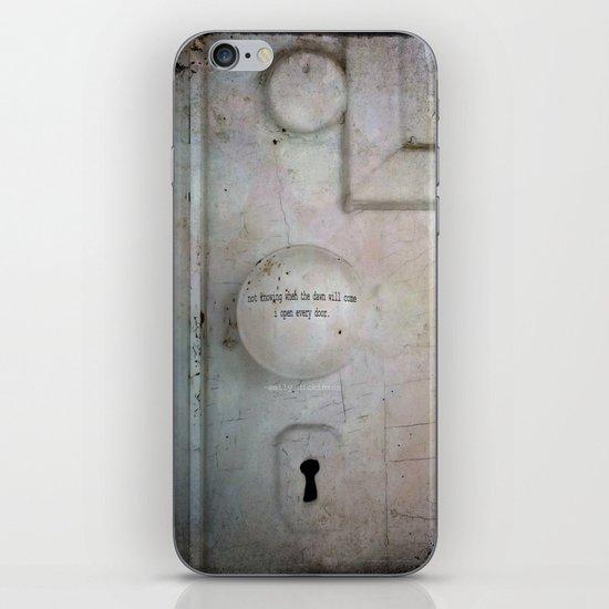 Open Every Door iPhone & iPod Skin