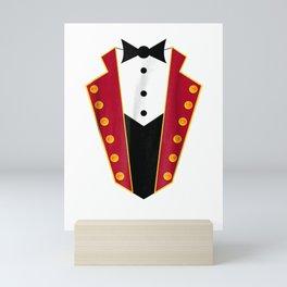 Ringmaster Costume Circus Showman Party Shirt Gift Mini Art Print
