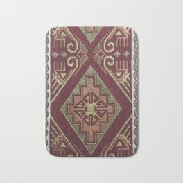 Ethnic background  #society6 #printart #decor #buyart Bath Mat