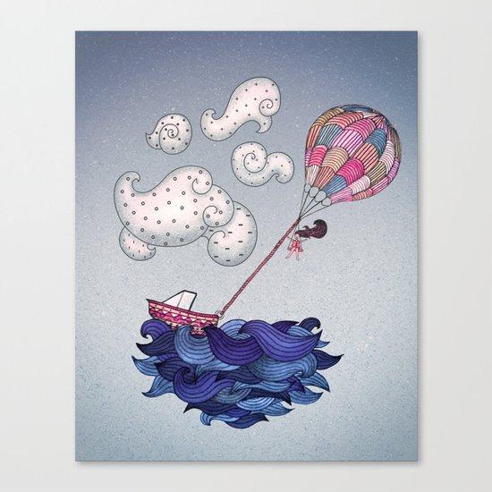 A Textured World Canvas Print