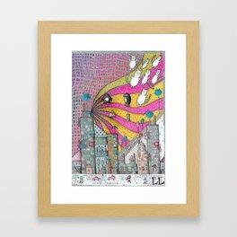 """""""Kittens""""  Illustrated print Framed Art Print"""