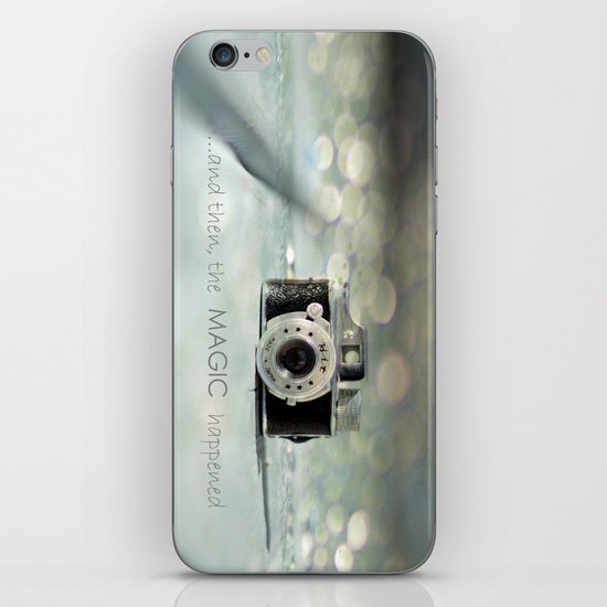 ...and then, the MAGIC happened... iPhone & iPod Skin