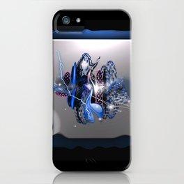 Cinad'or bleu iPhone Case