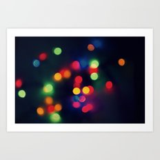 Lights of the Season Art Print