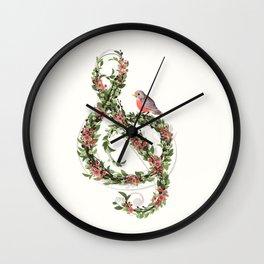 Robin's Song Wall Clock