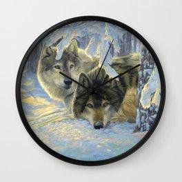 Deep Woods Wall Clock