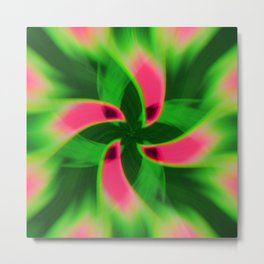 twirl bloom Metal Print
