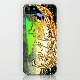 Totora boat iPhone Case