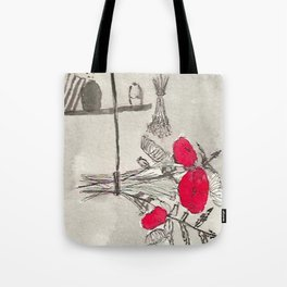 Red Poison Tote Bag