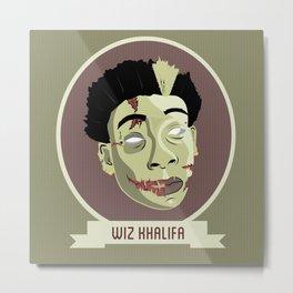 zombie wiz Metal Print