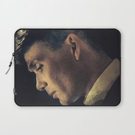 Peaky Blinders, Cillian Murphy, Thomas Shelby, BBC Tv series, gangster family Laptop Sleeve