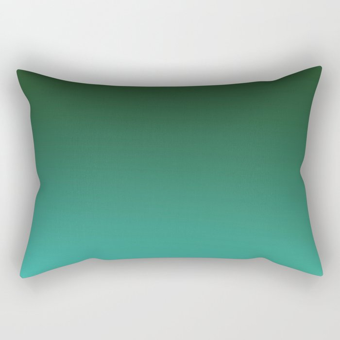 SHADOWS AND COUNTERPARTS - Minimal Plain Soft Mood Color Blend Prints Rectangular Pillow