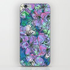 Little Purple Flowers iPhone & iPod Skin