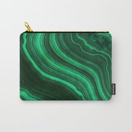 Malachite Texture 08 Carry-All Pouch