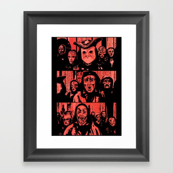 Eyes Wide Shut #2 Framed Art Print
