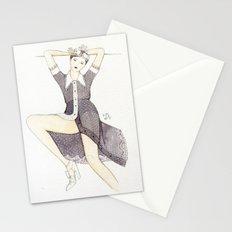 Little Sheer Black Dress Stationery Cards