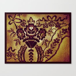 Somethings Laced Canvas Print
