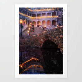 A Fairytale Of Airlie Art Print