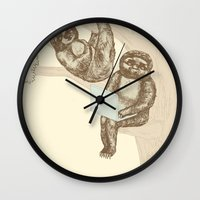 evolution Wall Clocks featuring Evolution by Mirisch