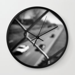 Caged Rat Race Wall Clock