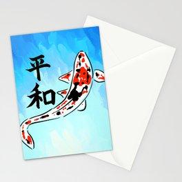Peace Koi Stationery Cards