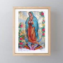 Guadalupe Framed Mini Art Print