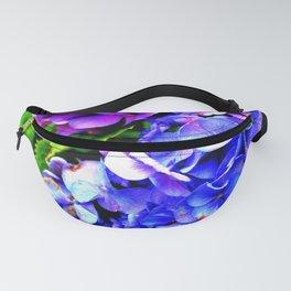 Hydrangeas Blue Purple Fanny Pack