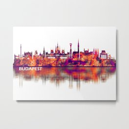 Budapest Hungary Skyline Metal Print